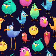 Angry Birds Pattern. Game Parr...