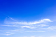 clouds sky in the blue sky background