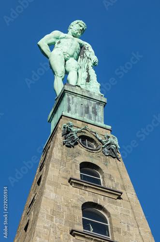 Foto op Plexiglas Historisch mon. Hercules monument at Kassel closeup