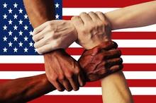 United States Flag Multicultur...