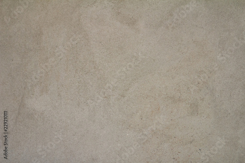 Fotografie, Obraz  Seamless empty sand wall background from sand gray color texture