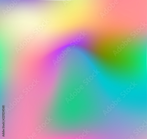 Garden Poster Pink Abstract rainbow background, soft blur, bokeh, square