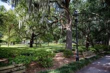 The Historic District Of Savannah, Georgia, United States