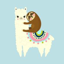 Vector Illustration Of Cute Fl...