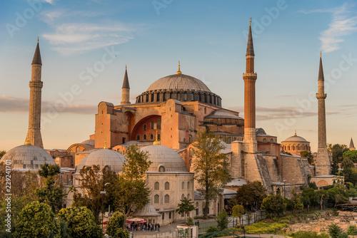 Slika na platnu Hagia Sophia or Ayasofya (Turkish), Istanbul, Turkey