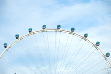 Detail Of Singapore Flyer Ferr...