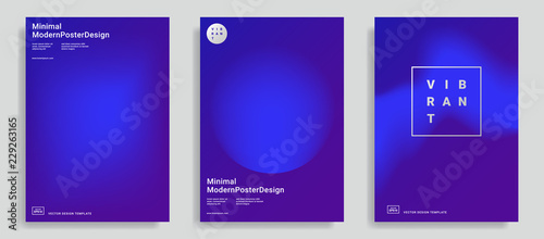 Obraz Trendy abstract design templates - fototapety do salonu