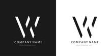 W Logo Letter Design