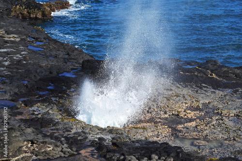 Fotografie, Obraz  Kauai Blowhole