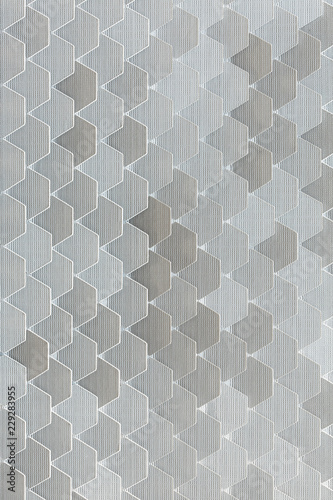 Gray geometric background - 229283955