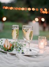 Rustic Outdoor Wedding Reception Table