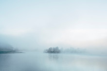 Lake Covered With Fog. Rydal W...