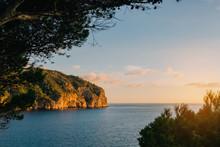 Sunset In Mediterranean Sea, M...
