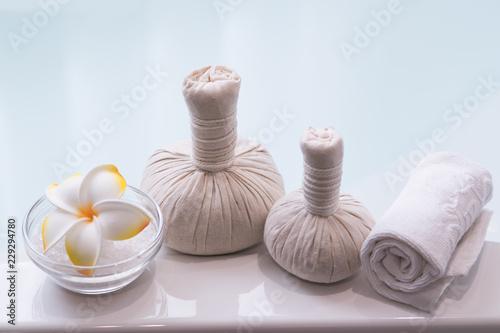 Staande foto Spa thai spa massage setting