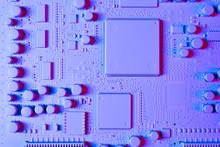 Circuit Board, Macro