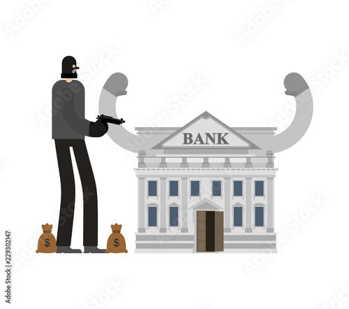 Fotografia Bank robbery