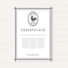 Certificate, Diploma Template....