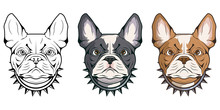 French Bulldog, Pet Logo, Dog ...