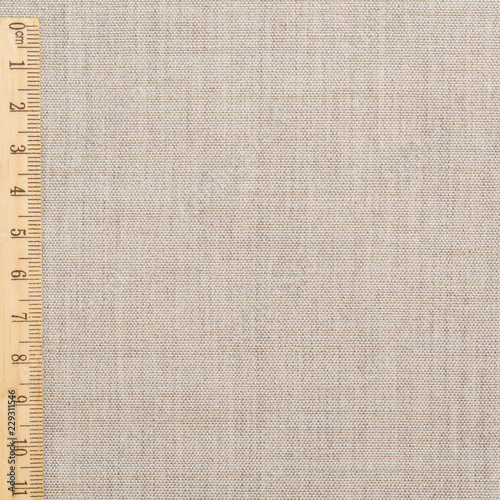 Fotobehang Stof Soft linen fabric for sewing clothes. Fabric background