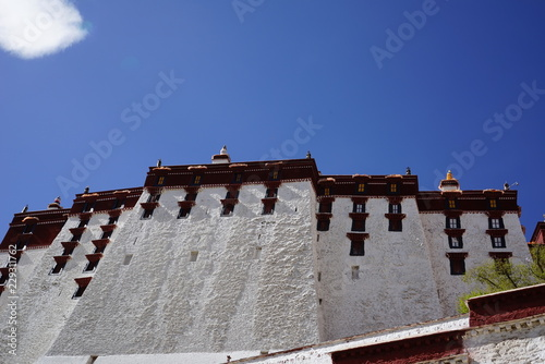 Fotografija Potala palace in Tibet