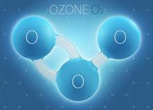O3 Ozone 3d Molecule Isolated ...