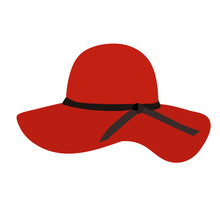 Women's Hat Red