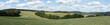 Panoramablick von Overath-Rott in Richtung Osten, Rheinisch Bergischer Kreis, Deutschland