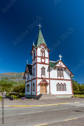 Church in the Iceland