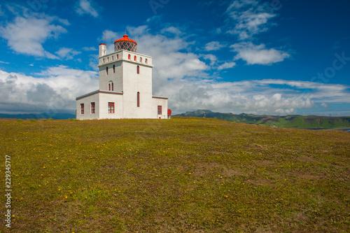 Lighthouse near Vik