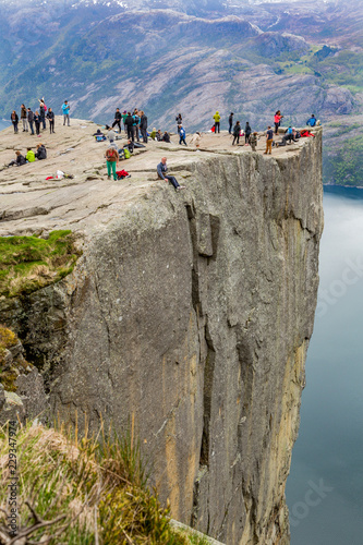 Wall Murals Northern Europe Predikestolen Norway