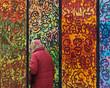 canvas print picture - Farben