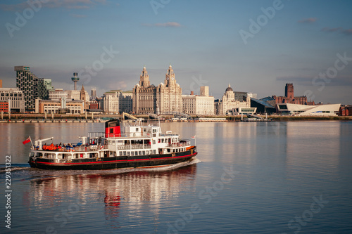 Ferry across the Mersey Wallpaper Mural