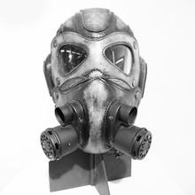 Steampunk Mask On White Backgr...
