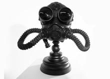 Steampunk Mask On White Background