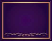 Background-Elegant Gold With P...