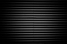Black Corrugated Metal Texture...