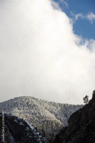 Papiers peints Xian Winter in Pyrenees