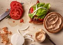 Hamburger Im Aufbau