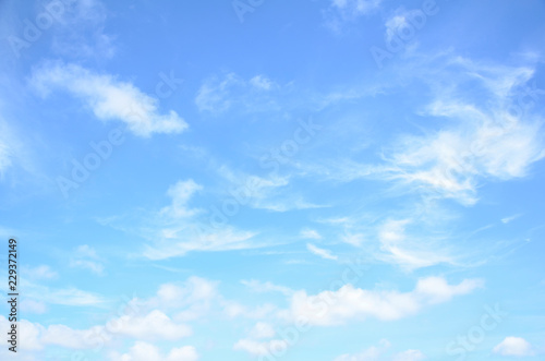 Aluminium Prints Heaven Bright sky with cloud background element.