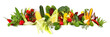 canvas print picture - Gemüse - Panorama