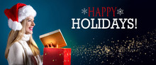 Happy Holidays Message With Yo...