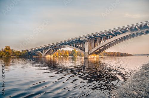 Keuken foto achterwand Bruggen bridge over the river