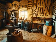 Old Smithy Workshop Interior