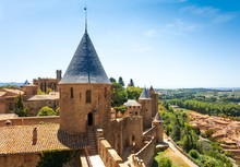 Carcassonne Castle And Saint N...
