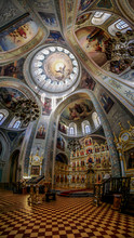 The Interior Of The Cathedral Of The Icon Of Mother Of God Of All Who Sorrow