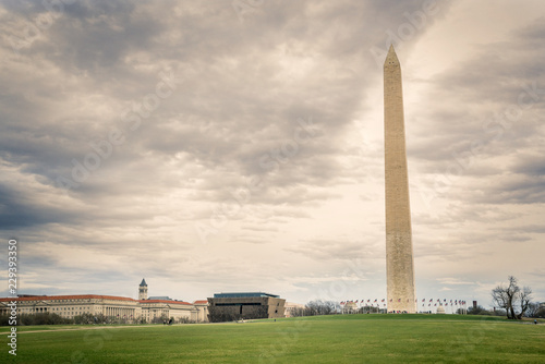 Fotografie, Obraz  Washington DC Monuments and buildings