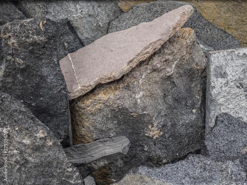 textura piedra gris