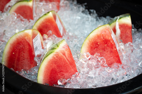 watermelon  with ice on sale