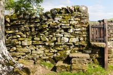 A Gate In A Rock Wall