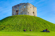 Clifford Tower In York, UK